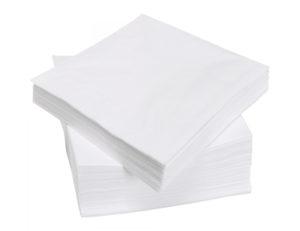 Бумажные салфетки для сервировки стола